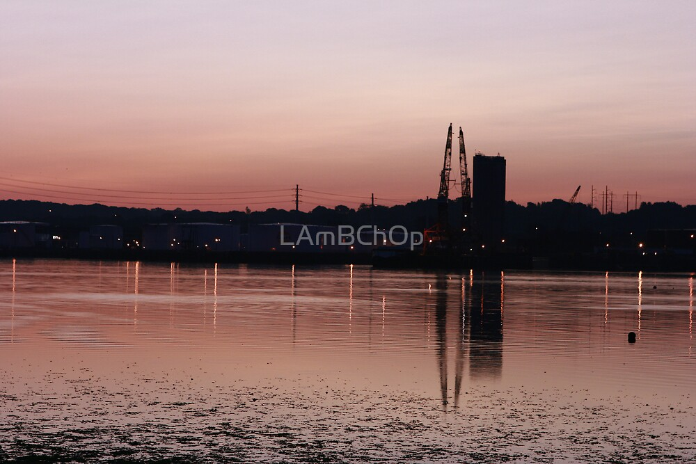 Factories and school doors close for the day by LAmBChOp