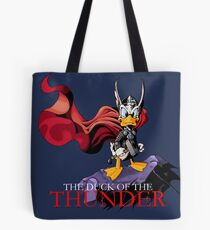 The Duck of the Thunder Tote Bag