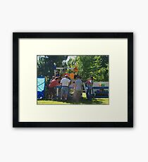 Fun and Games Framed Print