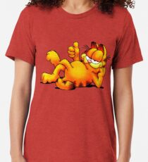 Garfield Relaxing Tri-blend T-Shirt
