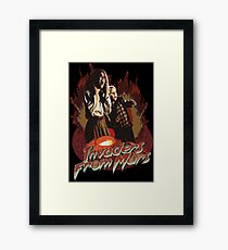 Invaders from Mars Framed Print