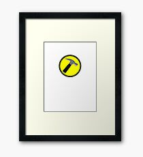 The Hammer (is my penis) Framed Print
