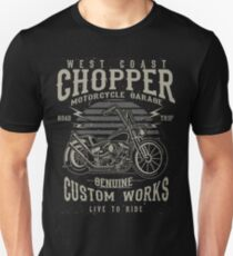 Chopper Motorcycle Retro Vintage T-Shirt