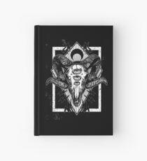 Ram Schädel Monochrom Notizbuch