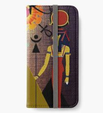 Hathor under the light of Ra iPhone Wallet