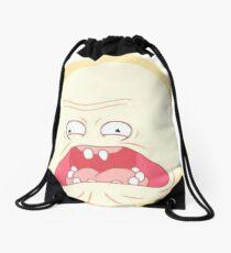 Screaming Sun Rick and Morty Drawstring Bag