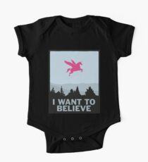 I want to believe in Unicorns Kids Clothes