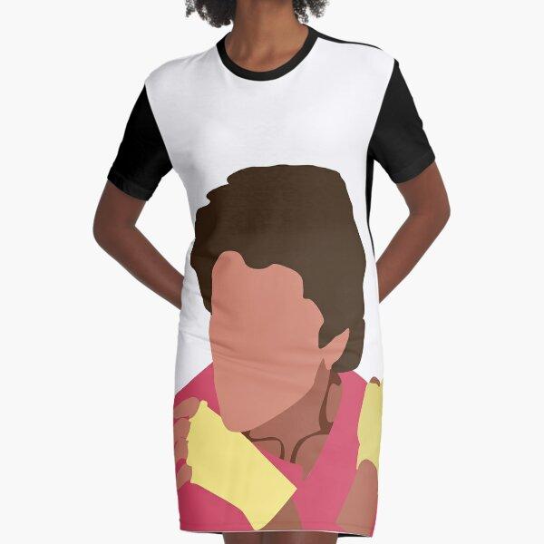 Never Gonna Dance Again Graphic T-Shirt Dress
