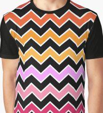 Gradient Chevron Graphic T-Shirt