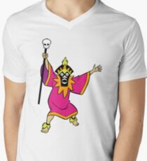 Scooby Doo Witch Doctor Villain Men's V-Neck T-Shirt