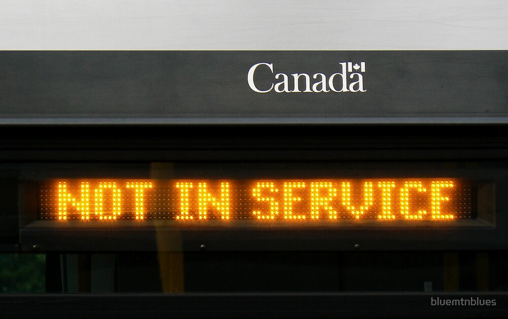 Not In Service by bluemtnblues