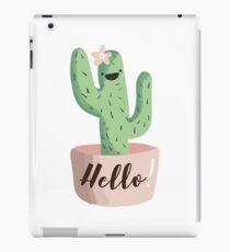 Hello Cactus! iPad Case/Skin