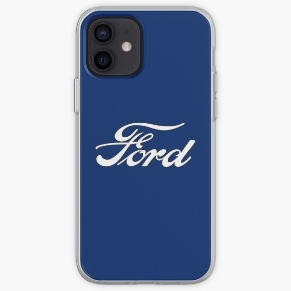 Classic Car Logos: Ford iPhone Soft Case
