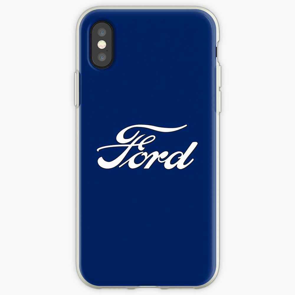 Oldtimer-Logos: Ford iPhone-Hüllen & Cover