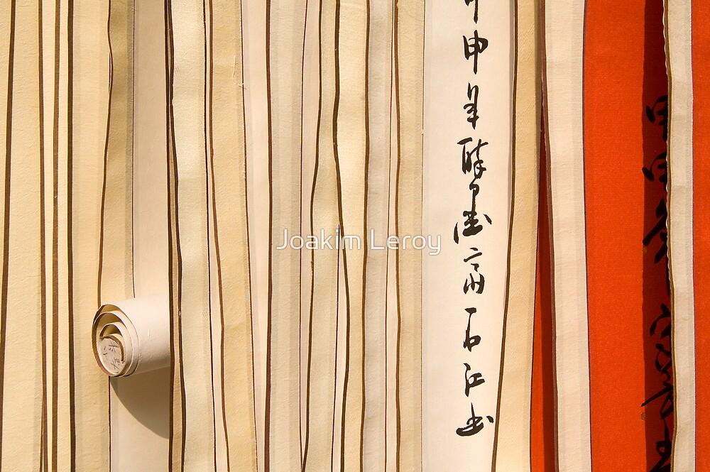Chinese Scrolls by Joakim Leroy
