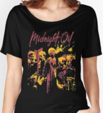 midnight oil band Women's Relaxed Fit T-Shirt