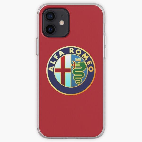 Alfa Romeo - Logos de voiture classique Coque souple iPhone