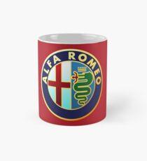 Alfa Romeo - Klassische Auto Logos Tasse (Standard)