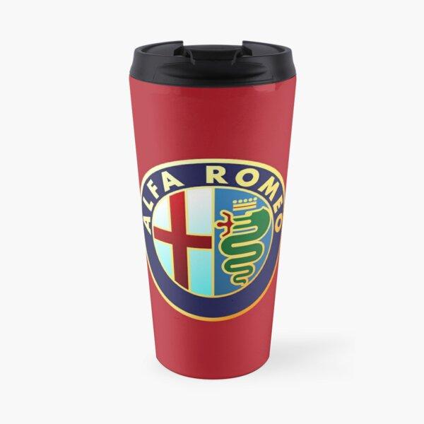 Alfa Romeo - Classic Car Logos Travel Mug