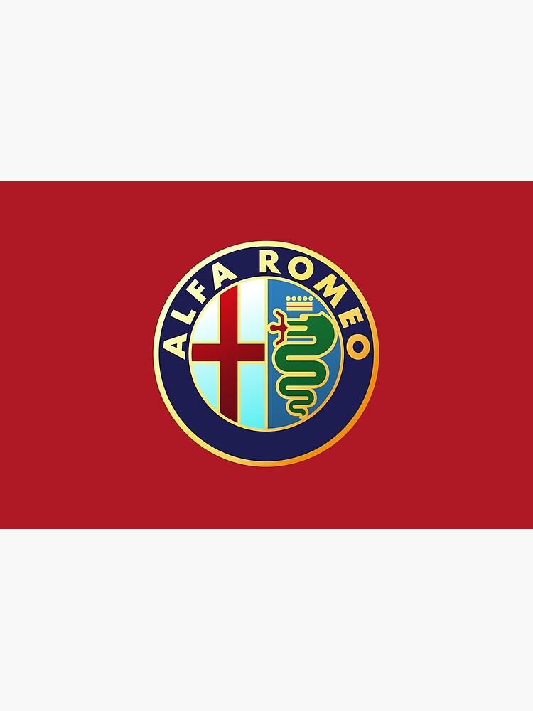 Alfa Romeo - Logos de coches clásicos de brookestead