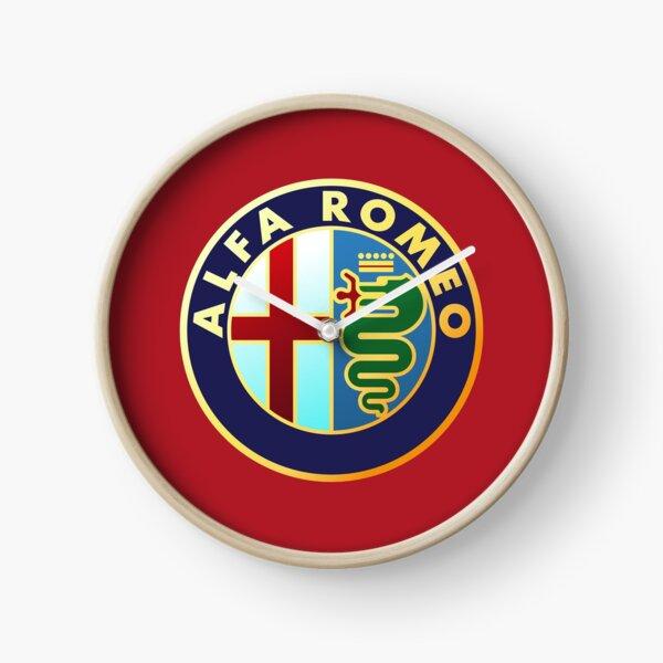 Alfa Romeo - Classic Car Logos Clock