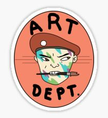 Art Dept. Special Forces Sticker