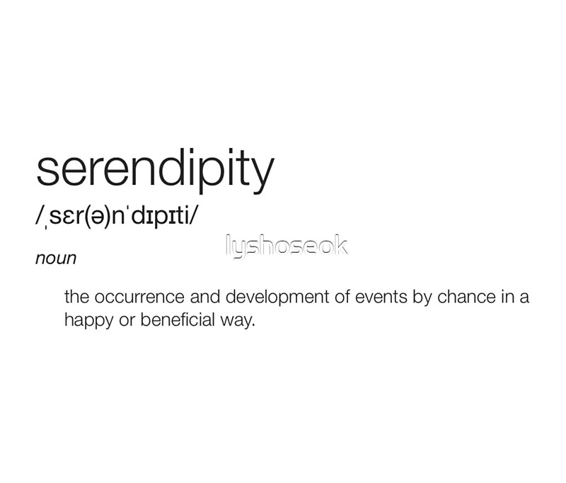 Serendipity definition