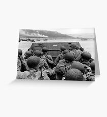 Battle Of Normandy Greeting Card