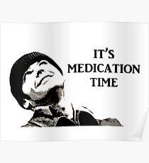 Medication Time Poster