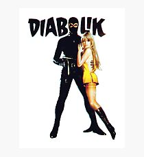 Danger Diabolik Photographic Print