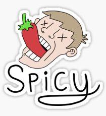 The Spicy Pepper Master Sticker