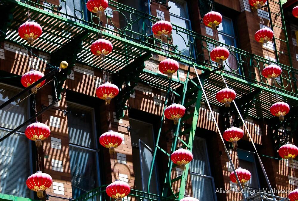 Dreams of Red Lanterns 1 by Alison Cornford-Matheson