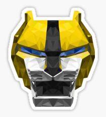 Yellow Lion Sticker