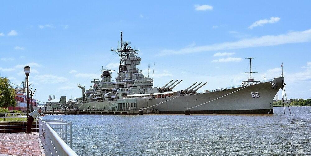 The World's Greatest Battleship  by Lanis Rossi