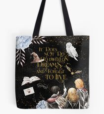 To Dwell on Dreams Tote Bag