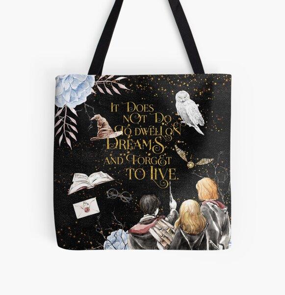 In Träumen wohnen Allover-Print Tote Bag