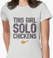 PUBG - This Girl Solo Chickens T-Shirt