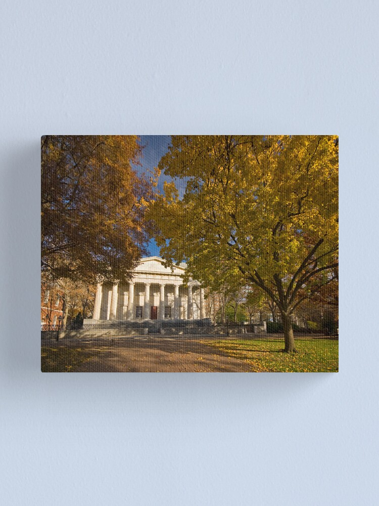 Alternate view of Philadelphia Old Second Bank of the United States  (Alan Copson © 2007)  Canvas Print