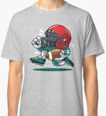Football Helmet Running Classic T-Shirt
