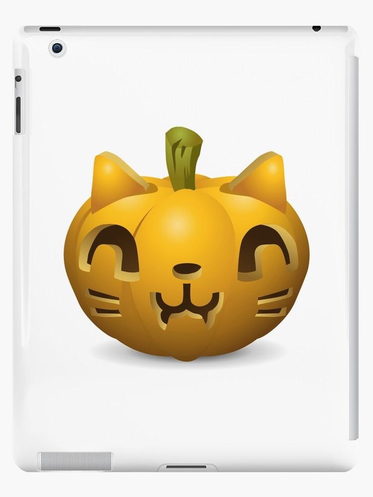 Halloween-Kürbis-Katze von fourretout