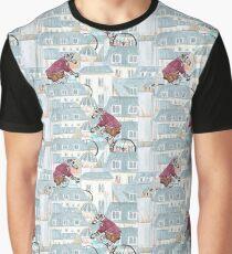 Le zèbre de Paname Graphic T-Shirt