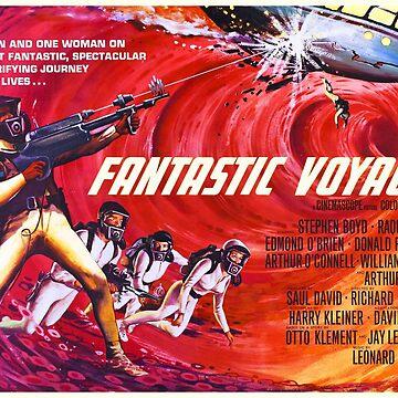 Amazing Journey - Fantastic Voyage 1966 by Antxoita