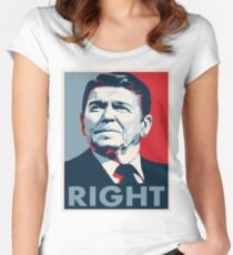 Ronald Reagan Women's Fitted Scoop T-Shirt