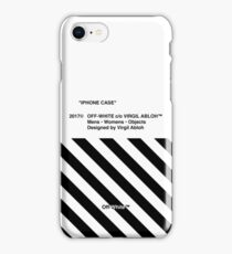 Off White IPHONE CASE iPhone Case/Skin