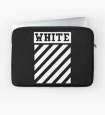 white white lines Laptop Sleeve