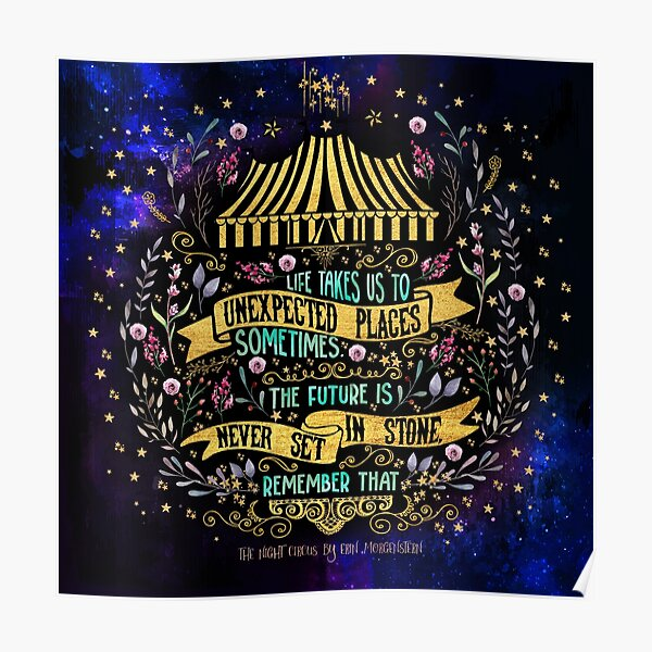 The Night Circus - Unexpected Places Poster