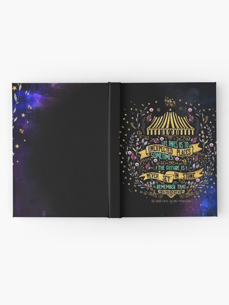 Alternate view of The Night Circus - Unexpected Places Hardcover Journal