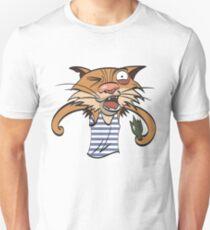 sticker cartoon alkoholic cat. More in my gallery T-Shirt
