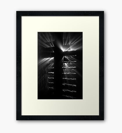 Religious Experience Edit Framed Print