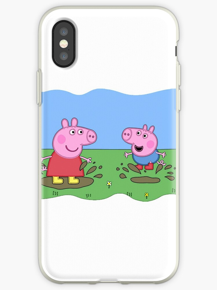 new style 72f3b c5faf 'peppa pig ' iPhone Case by mephystopheles